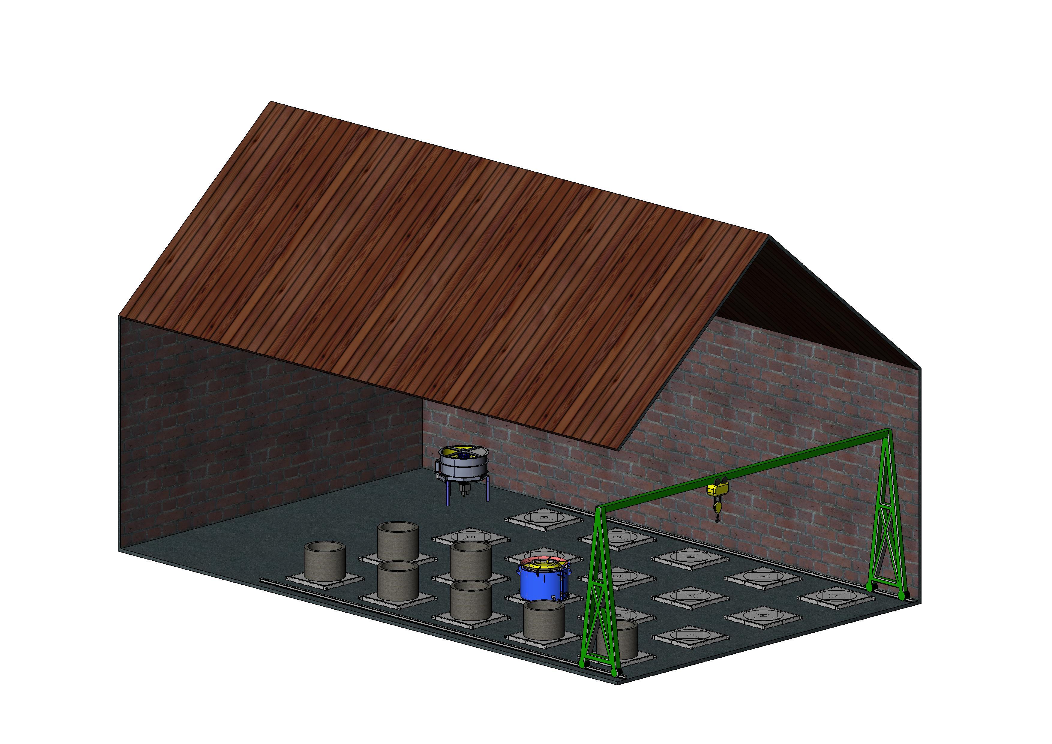 Начальный запас материалов желательно купить на 1 месяц. Для производства  колодезных колец понадобится следующее оборудование  df111687dfb