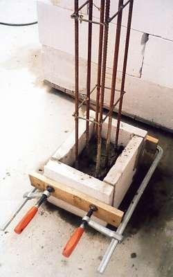 Несъемная опалубка из отходов газобетона