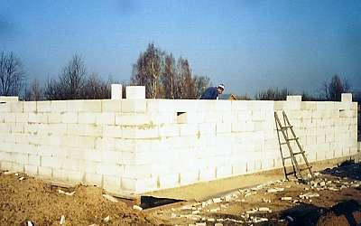 Стены подвала готовы