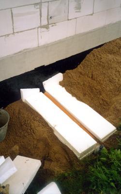 Утепление выпуска домовой канализации