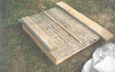 Укрытие бетона рубероидом