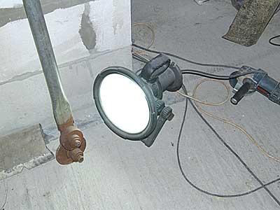 Прожектор с энергосберегающей лампой