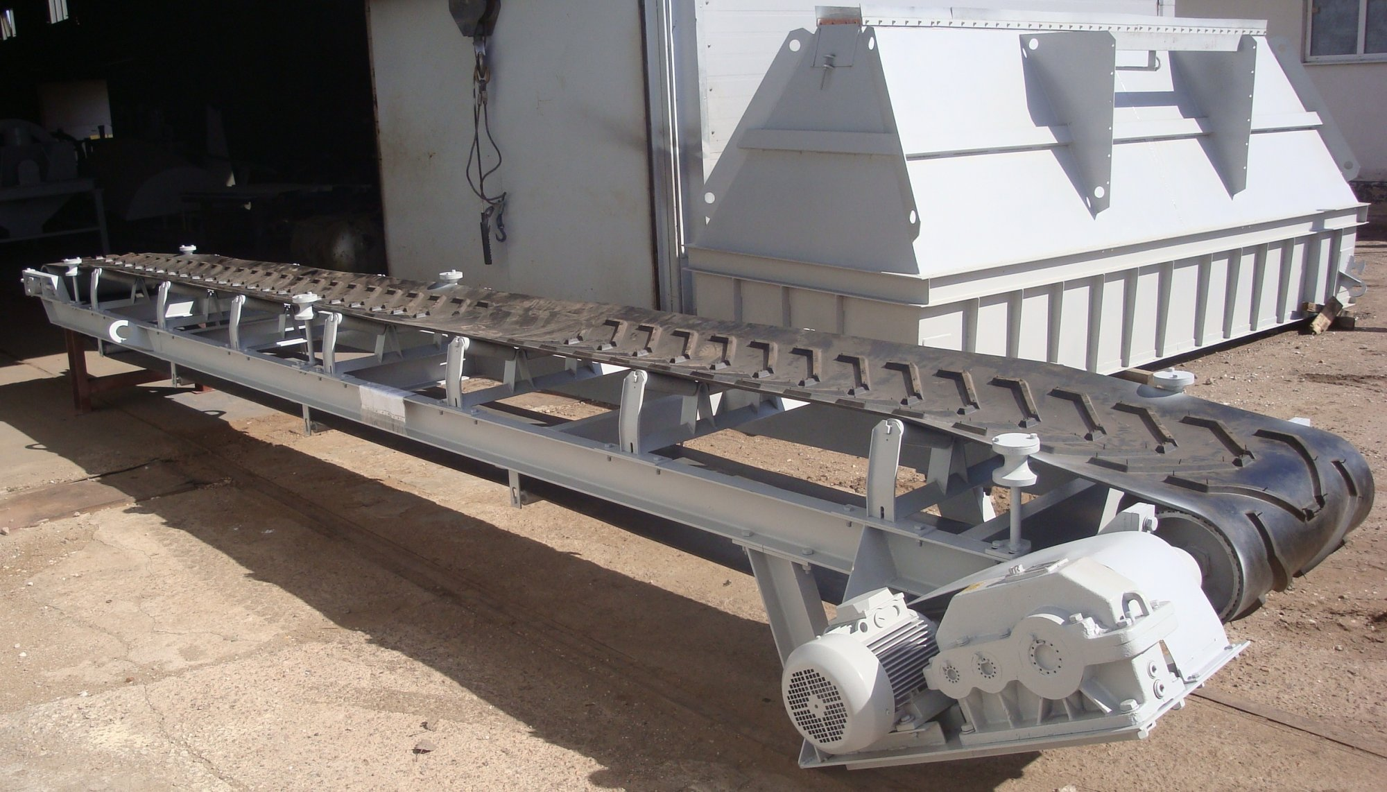 Лента для транспортеров высокая крыша на транспортер